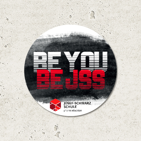 Logogestaltung BE YOU - BE JSS
